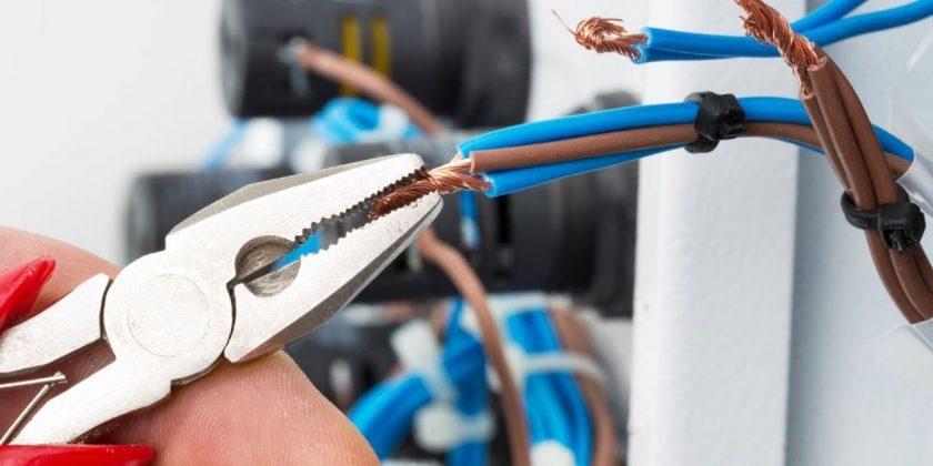 montazh elektroprovodki elektryky - Монтаж электропроводки