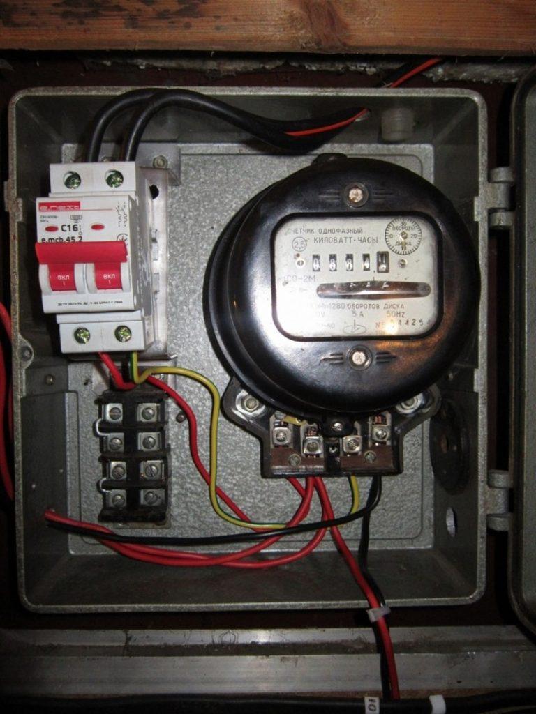 podklyuchit odnofaznyy schetchik1 768x1024 - Подключение электросчетчика